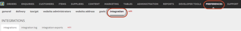 integrationbar